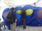 22sq_m Airbanners Lifter fitting balloons.