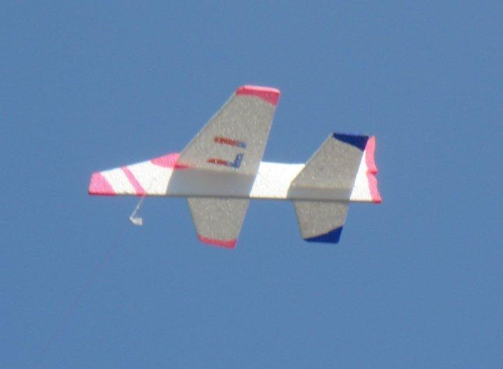 Polystyrene Aeroplane Kite Bali 2007
