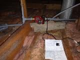 Boost pump installed